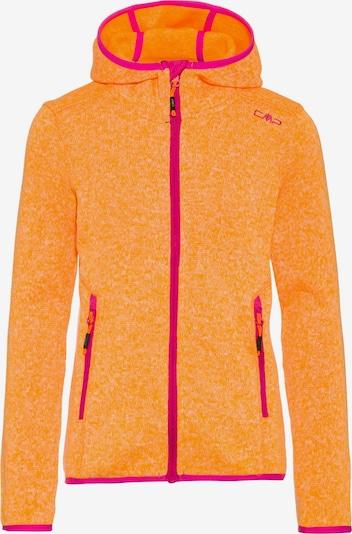 CMP Fleecejacke in orange / pink, Produktansicht