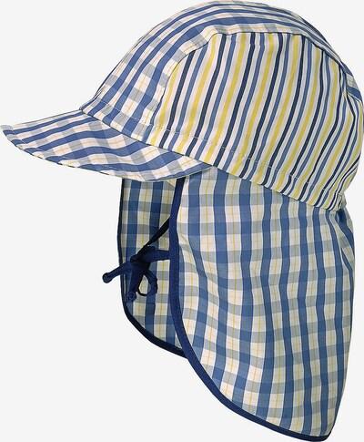MAXIMO Sonnenhut mit Nackenschutz zum Binden in blau, Produktansicht