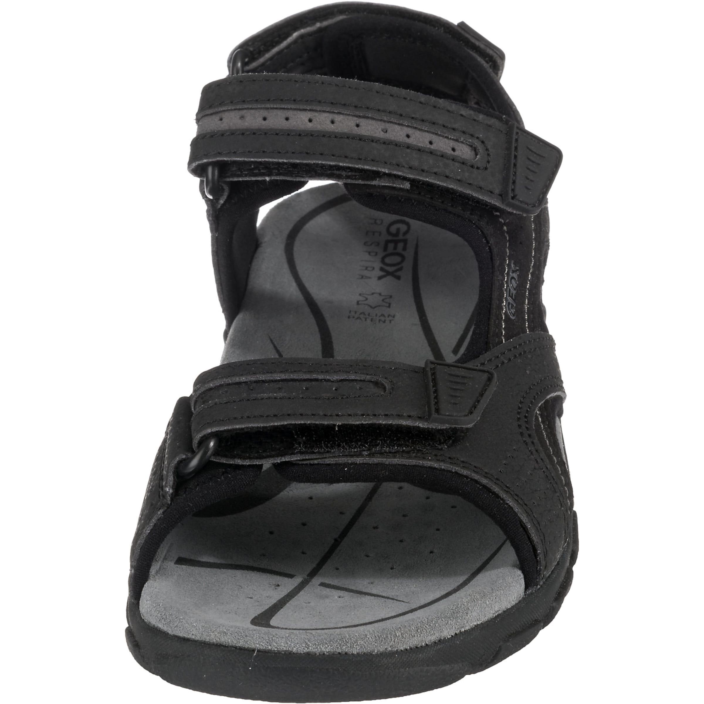 Geox Sandale Sandale GraphitSchwarz Geox In GraphitSchwarz In vwNOym8n0