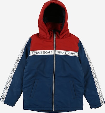 NAME IT Jacke 'MAX' in dunkelblau / rot / weiß, Produktansicht