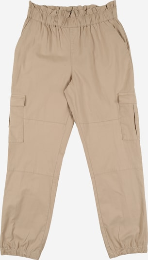 NAME IT Cargohose 'NKFDOFINA LOOSE PANT' in beige: Frontalansicht