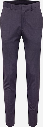 Pantaloni cu dungă BURTON MENSWEAR LONDON pe gri, Vizualizare produs