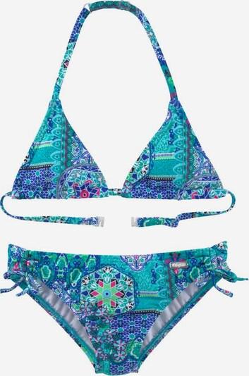 BUFFALO Triangel-Bikini in blau / türkis, Produktansicht