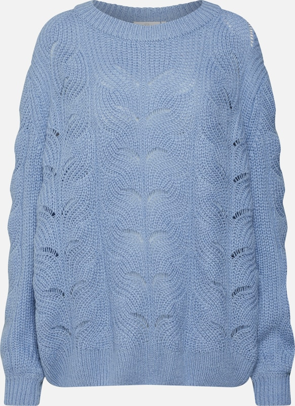 'daphne Clair Kaffe En Bleu Pull over Knit' f7Ygyb6v