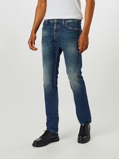 DIESEL Jeans 'D-Kras-X' in de kleur Donkerblauw: Vooraanzicht