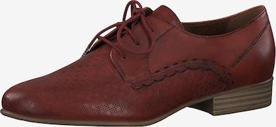TAMARIS Schnürschuh in rot, Produktansicht