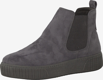 MARCO TOZZI Chelsea boots in dark grey / black, Item view