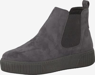 MARCO TOZZI Chelsea Boots in dunkelgrau / schwarz, Produktansicht
