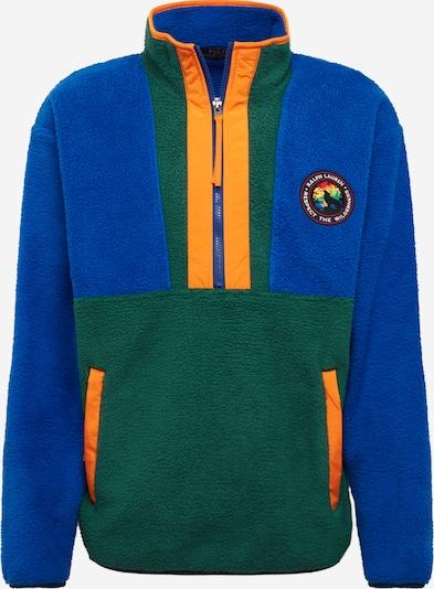 POLO RALPH LAUREN Majica | modra / jelka / oranžna barva, Prikaz izdelka