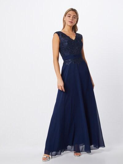 LUXUAR Abendkleid in nachtblau, Modelansicht