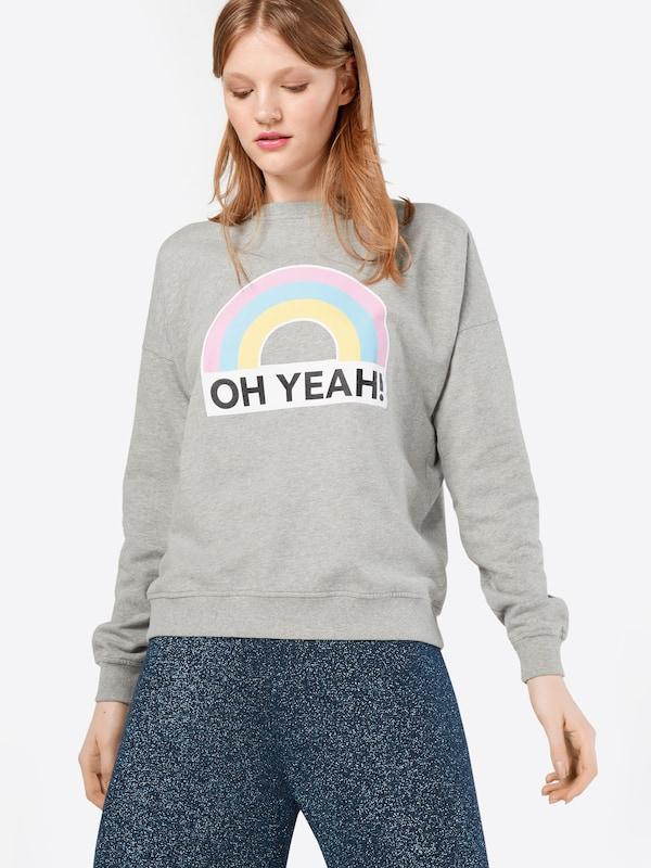 Oh Yeah! Sweatshirt 'Rainbow V-Shape'