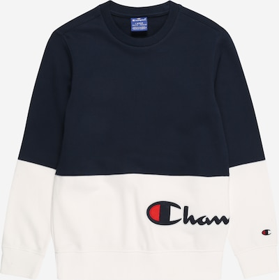 Bluză de molton Champion Authentic Athletic Apparel pe navy / alb, Vizualizare produs