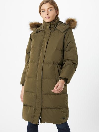 MOSS COPENHAGEN Abrigo de invierno en verde, Vista del modelo