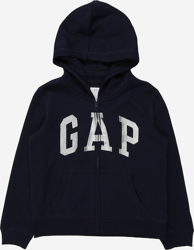 GAP Sweatjacke in navy / hellgrau, Produktansicht
