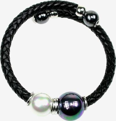 Perlas Orquidea Armband 'Kenia' in de kleur Zwart, Productweergave