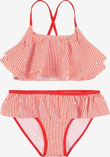 NAME IT Bikini 'NKFZINITA' in rot / weiß, Produktansicht