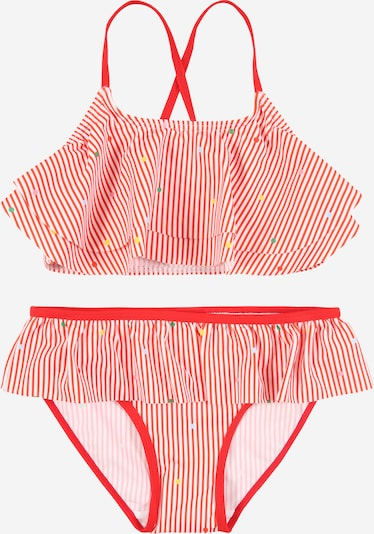 NAME IT Bikini 'Zinita' in rot / weiß, Produktansicht