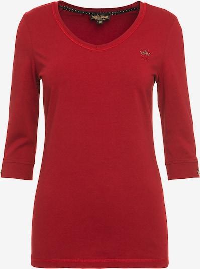 Soccx Shirt in rot, Produktansicht