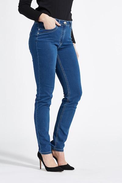 LauRie Jeans 'Charlotte' in de kleur Blauw, Productweergave