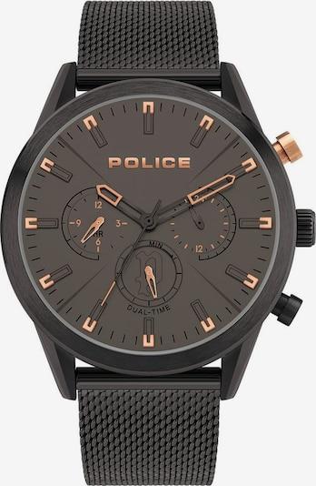 POLICE Multifunktionsuhr 'SILFRA, PL16021JSB.79MM' in schwarz, Produktansicht