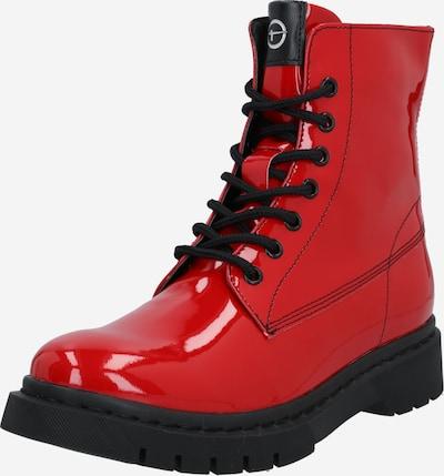 TAMARIS Schnürstiefelette in rot, Produktansicht