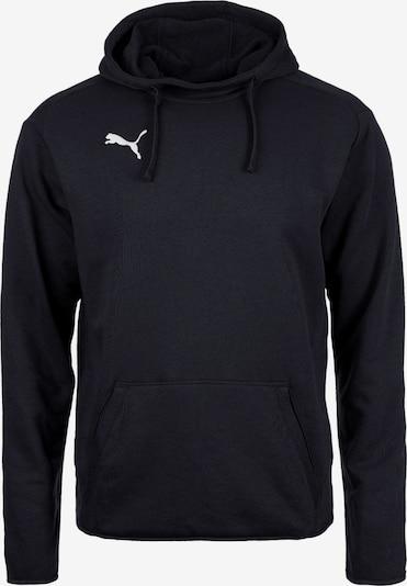 PUMA Sportsweatshirt 'Liga' in de kleur Zwart / Wit, Productweergave