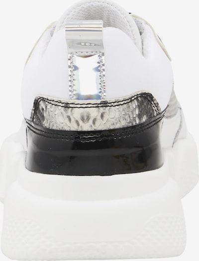 heine Baskets basses en blanc: Vue de face