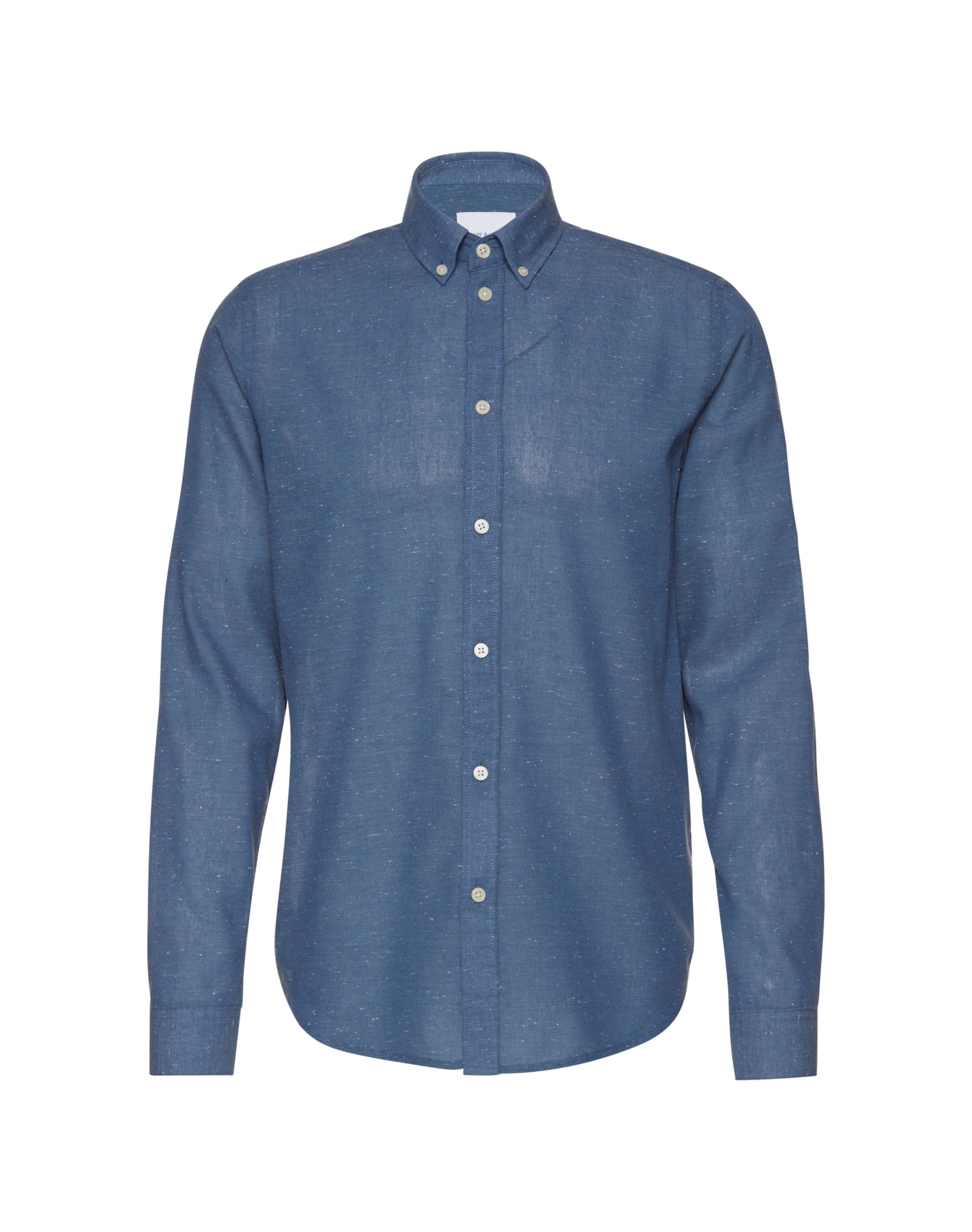 Samsoe & Samsoe Hemd mit Button-Down-Kragen 'LiamBX 8003' Rabatt Niedriger Versand MEACdmqS