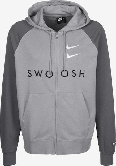 Nike Sportswear Sweatjacke in grau / dunkelgrau, Produktansicht