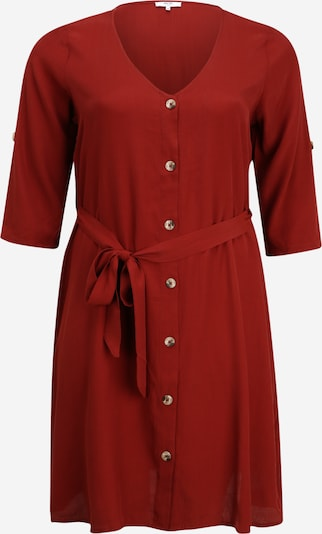 ABOUT YOU Curvy Robe 'Milly' en rouge rouille, Vue avec produit