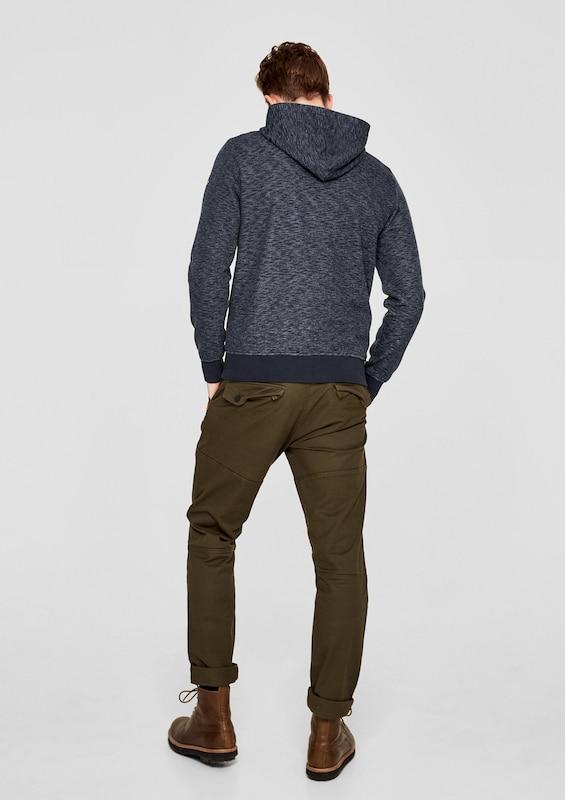 S.oliver Red Label Melange Sweatshirt With Hood