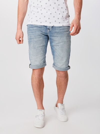 CAMP DAVID Jeans in de kleur Blauw denim, Modelweergave