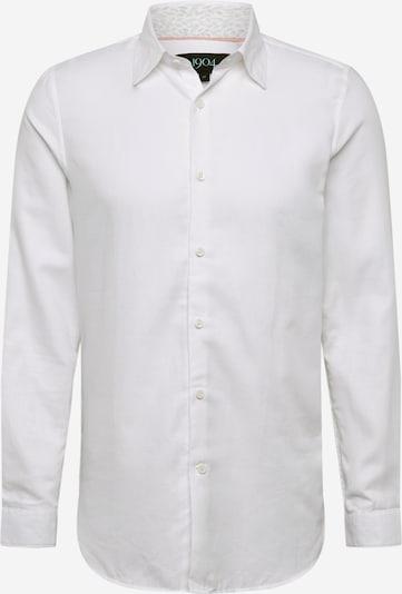 BURTON MENSWEAR LONDON Chemise business 'Dobby' en blanc, Vue avec produit