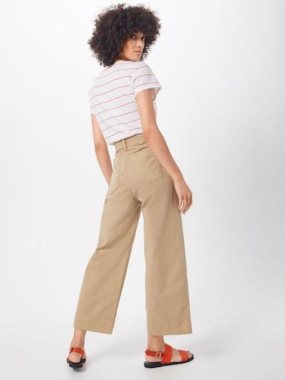 GAP Pantalon chino en beige clair: Vue de dos
