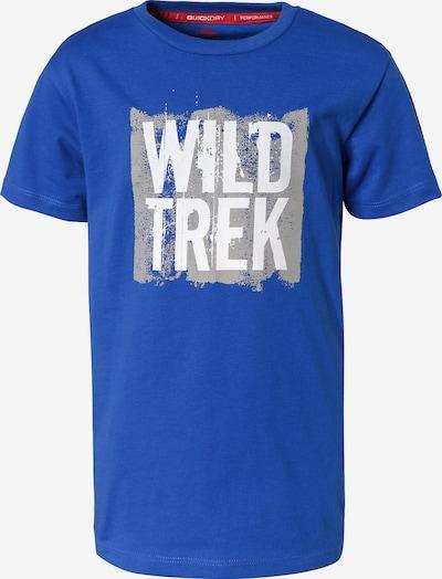 TRESPASS T-Shirt in blau / hellgrau / weiß, Produktansicht