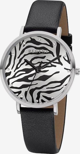 REGENT Uhr 'BA-653 3225.78.16' in schwarz / silber, Produktansicht