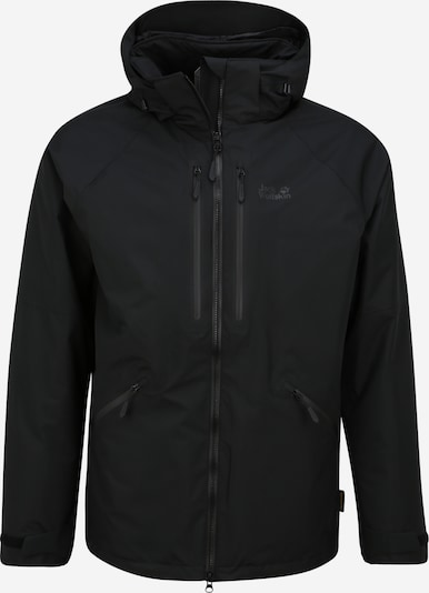 JACK WOLFSKIN Outdoorjas 'GLEN CANYON' in de kleur Zwart, Productweergave