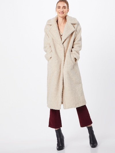 Palton de primăvară-toamnă 'Tabby Fake Fur' Herrlicher pe maro cămilă, Vizualizare model