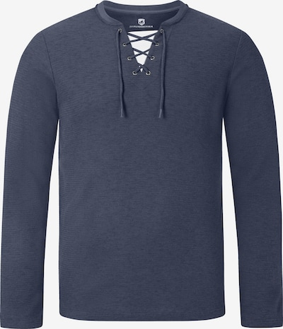 Jan Vanderstorm Sweatshirt ' Tiard ' in blau, Produktansicht
