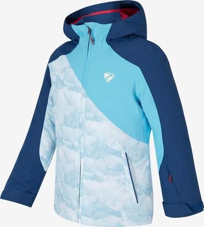 ZIENER Skijacke 'Abella' in hellblau / dunkelblau / weiß, Produktansicht