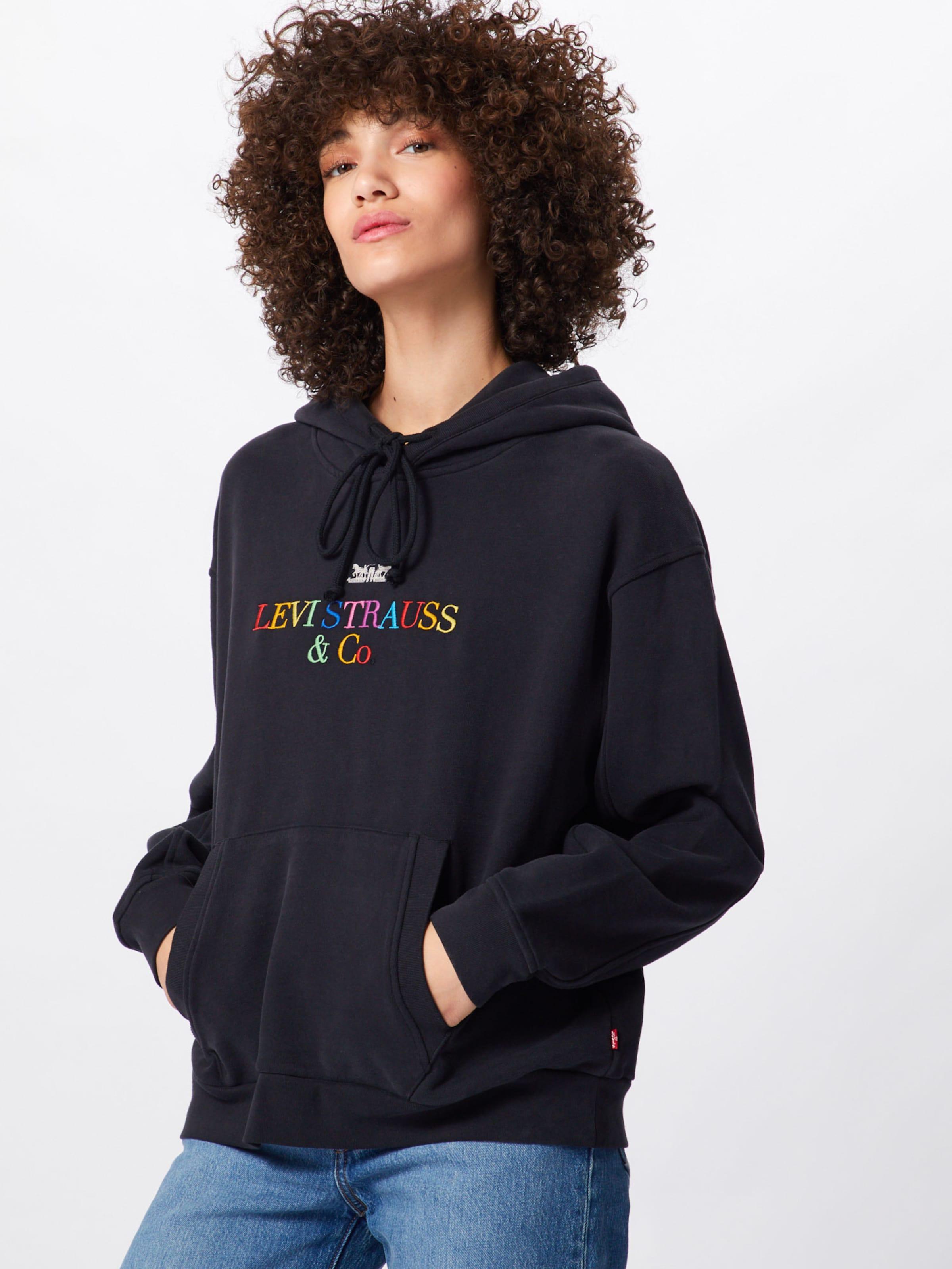 Noir Sweat Levi's Hoodie' En shirt ''unbasic' pzLqSUVMG