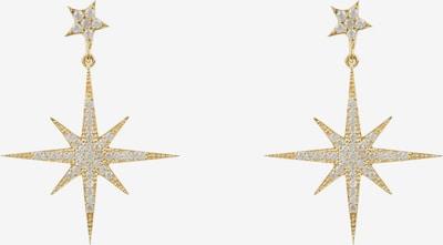 Latelita Ohrringe in gold / transparent, Produktansicht