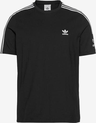 ADIDAS ORIGINALS Shirt 'Lock Up' in de kleur Zwart / Wit, Productweergave