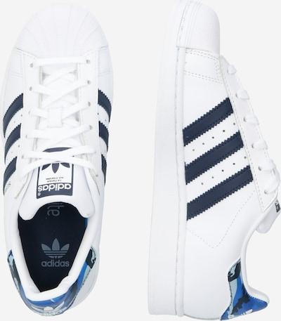 ADIDAS ORIGINALS Sneaker 'Superstar' in weiß: Seitenansicht