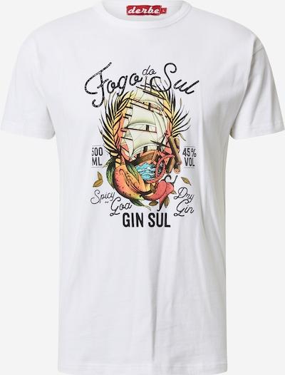Derbe Shirt 'Fogo do Sul' in weiß, Produktansicht