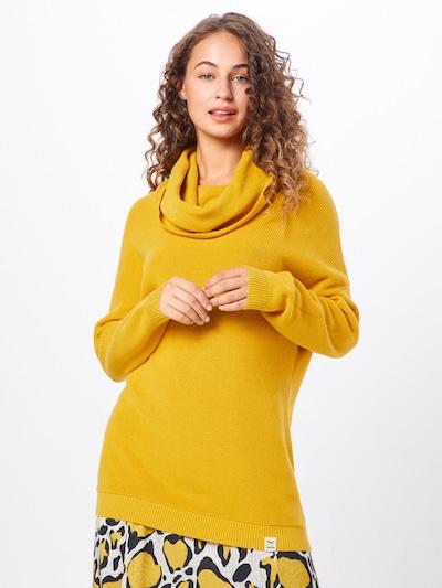 Iriedaily Pullover 'Mock Turtle Knit' in gelb, Modelansicht
