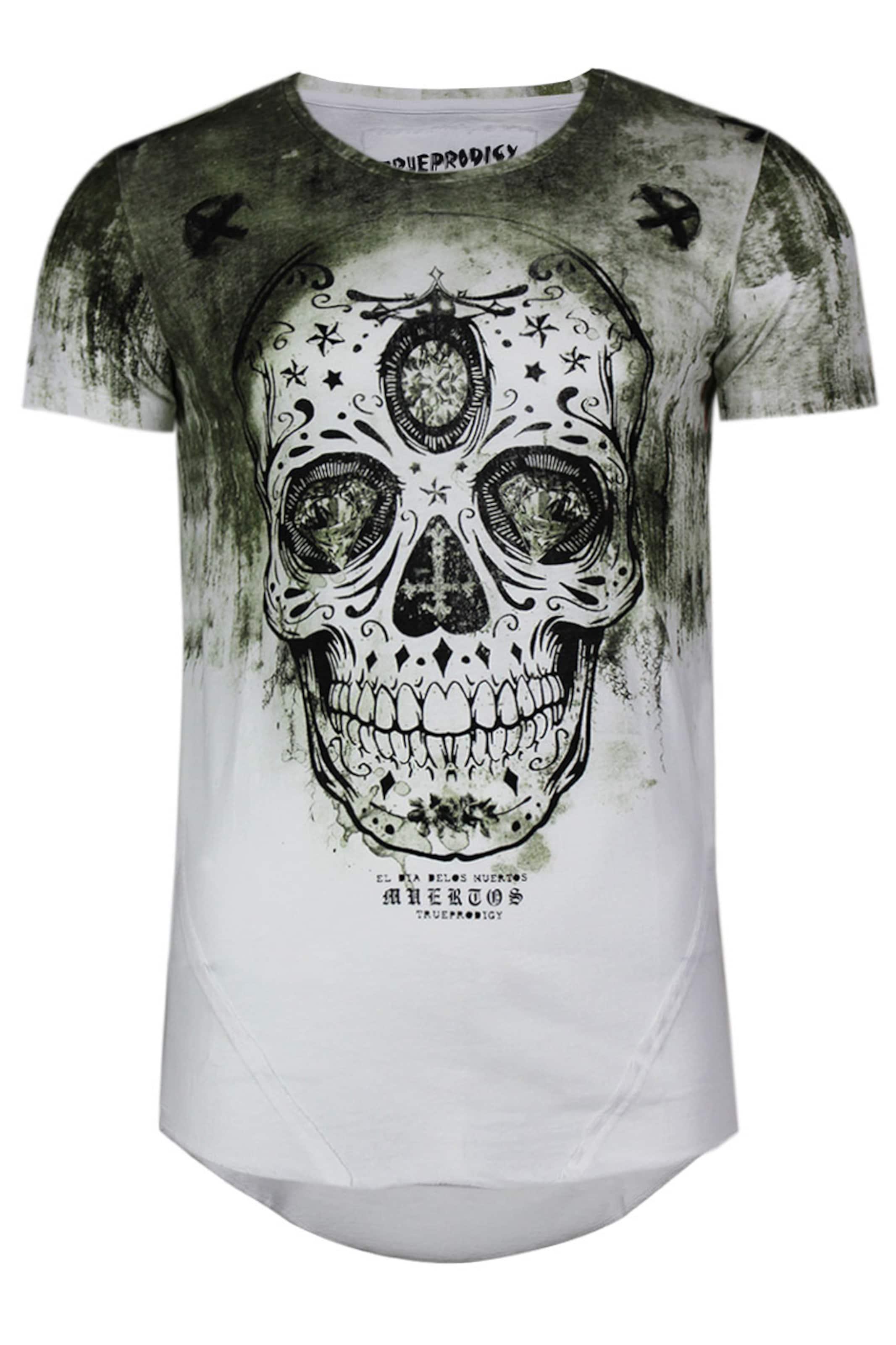 Dead T In Trueprodigy shirt 'festival The KhakiWeiß Of Ii' Ybf6y7g