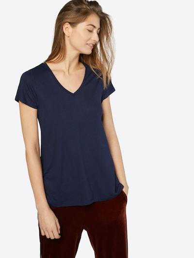 Kaffe Koszulka 'Anna' w kolorze niebieska nocm: Widok z przodu
