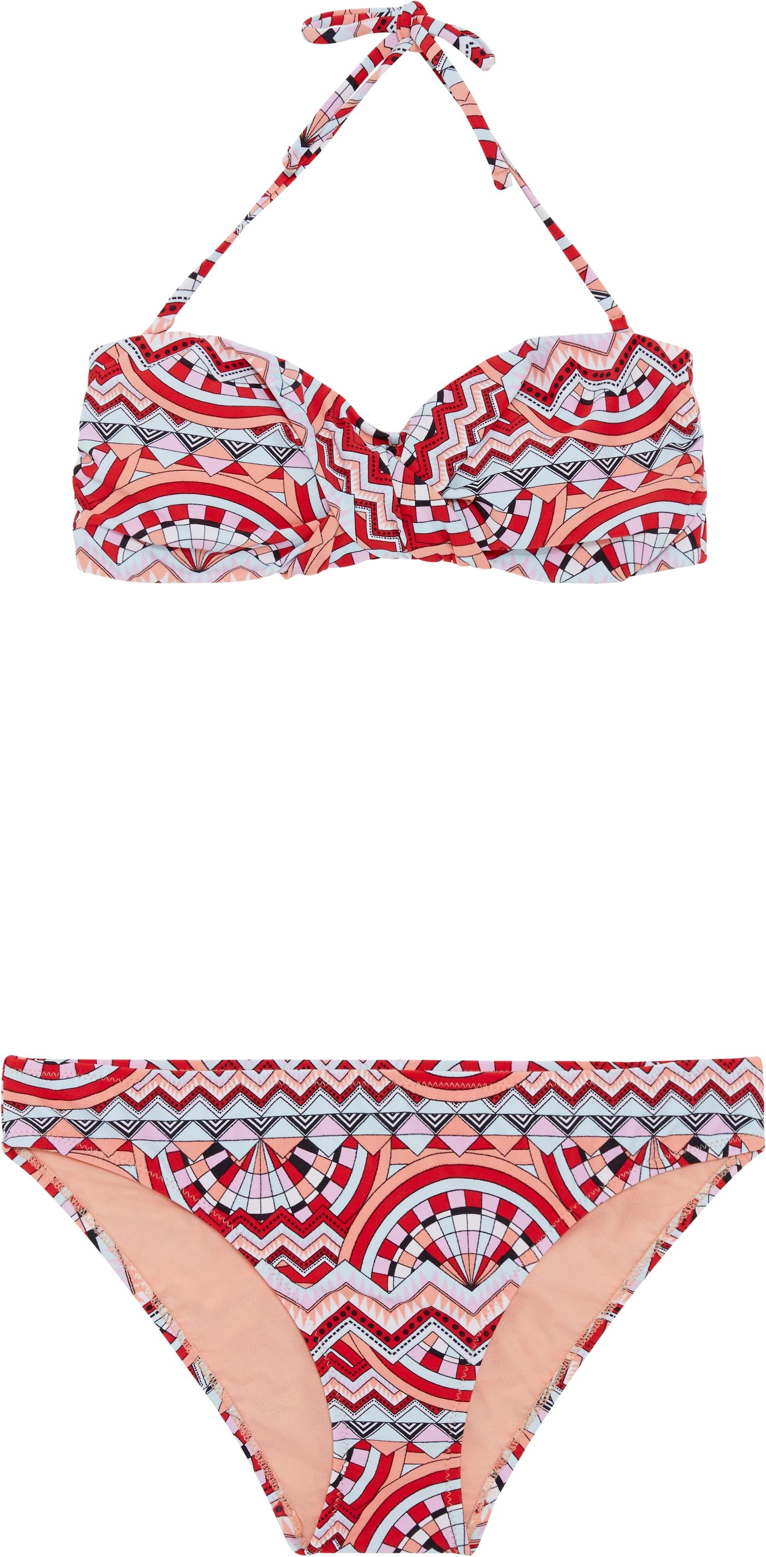 'ebony' Chiemsee Rouge Bikini BleuCorail En NwO0PkX8n