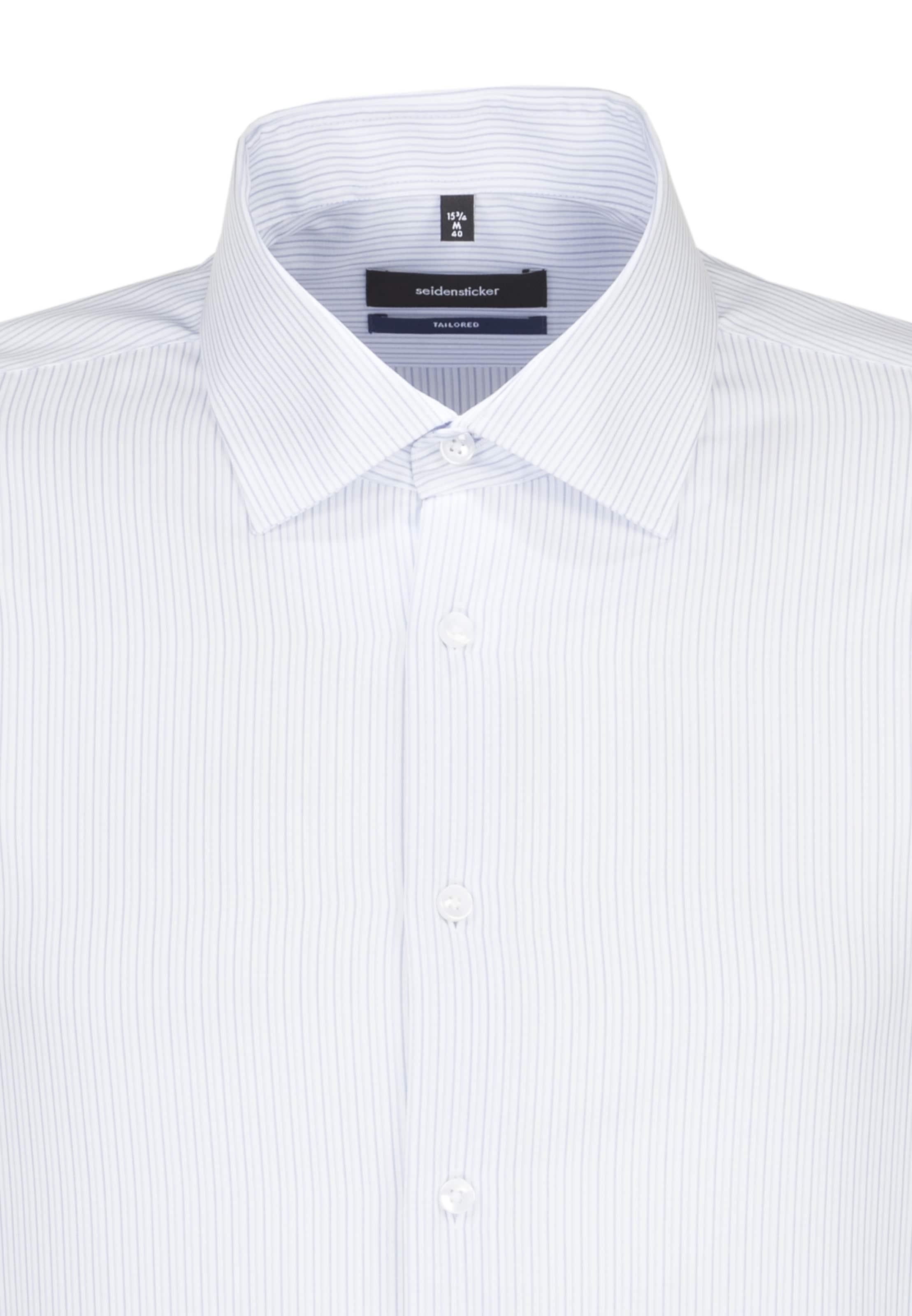 HellblauWeiß Hemd Business 'tailored' Seidensticker In QdrCBoxeW